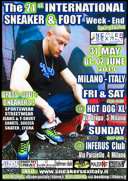 International Sneaker & Foot Weekend Flyer 1